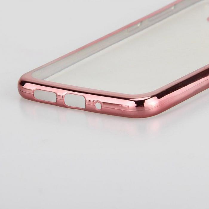 Husa  Huawei P10 Lite Plating  Silicon TPU Ultra Thin  - rose 4