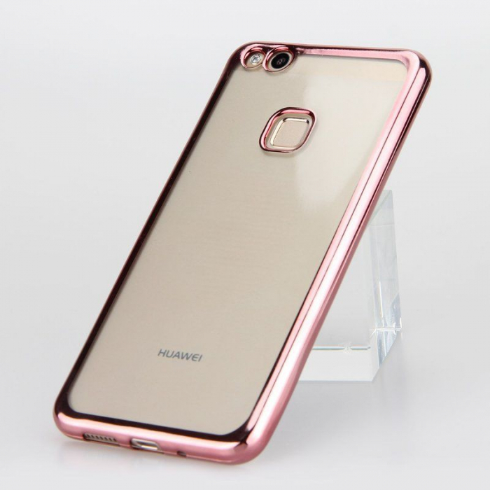Husa  Huawei P10 Lite Plating  Silicon TPU Ultra Thin  - rose 2