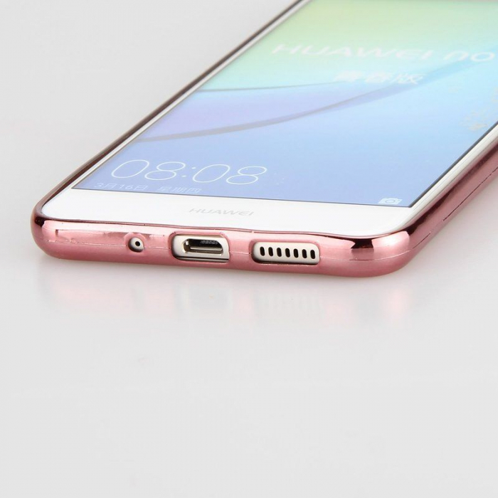 Husa  Huawei P10 Lite Plating  Silicon TPU Ultra Thin  - rose 5