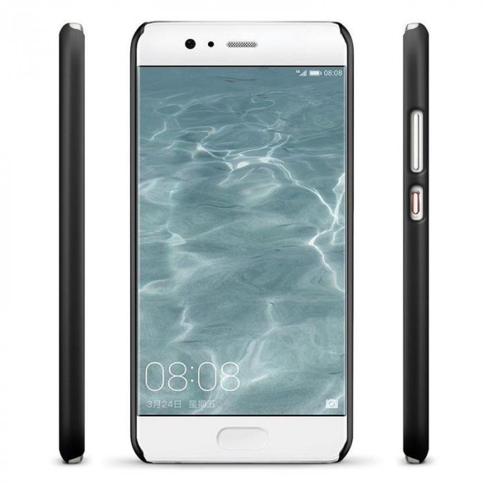 Husa  Huawei P10 Plastic Cauciucat - negru 2