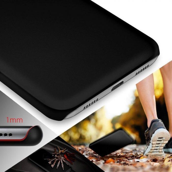 Husa  Huawei P10 Plastic Cauciucat - negru 4
