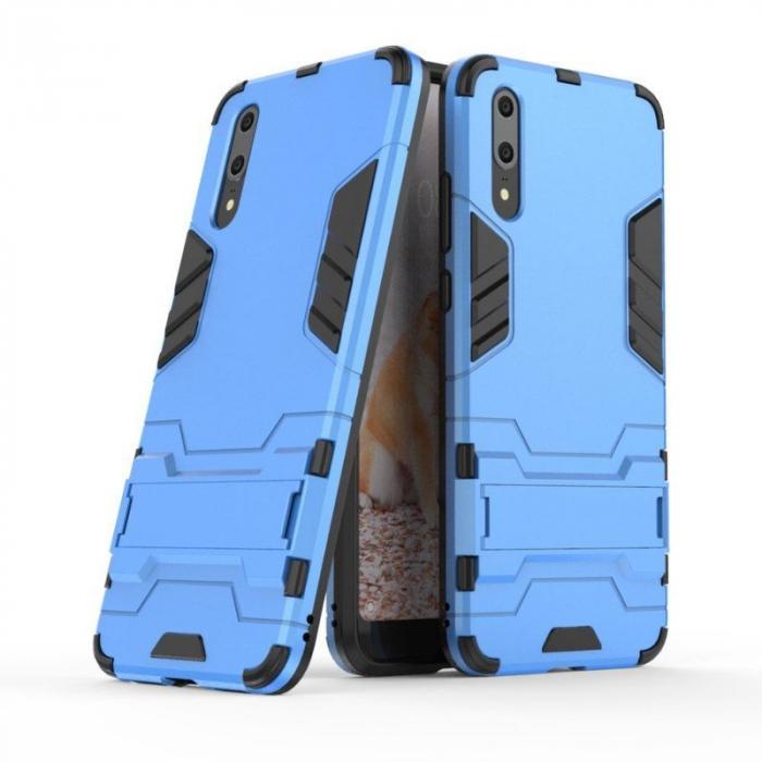 Husa   Huawei P20  Hybrid Stand - albastru 1