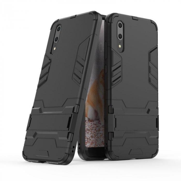 Husa   Huawei P20  Hybrid Stand - negru 1