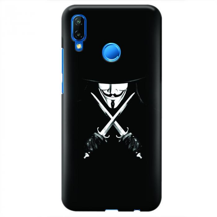 Husa Huawei P20 Lite   Custom Hard Case - Anonymous 2 0