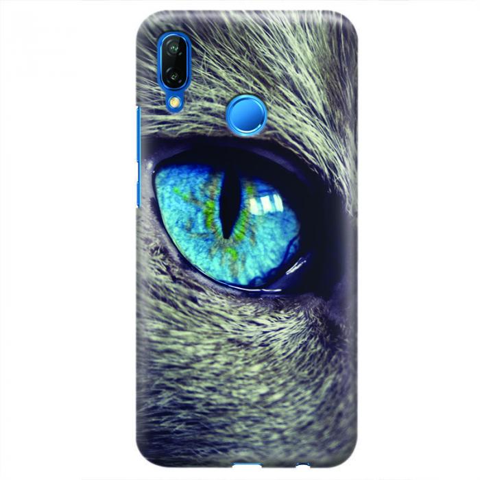 Husa Huawei P20 Lite Custom Hard Case - Cat Eye 0