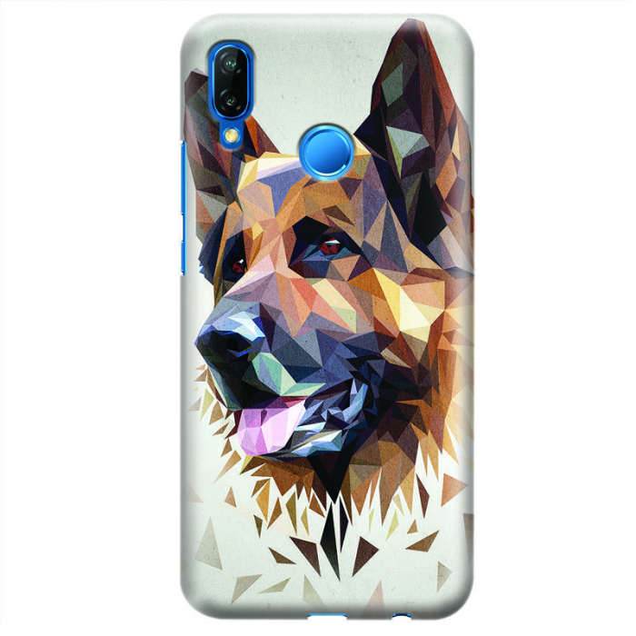 Husa Huawei P20 Lite   Custom Hard Case - Dog.1 0