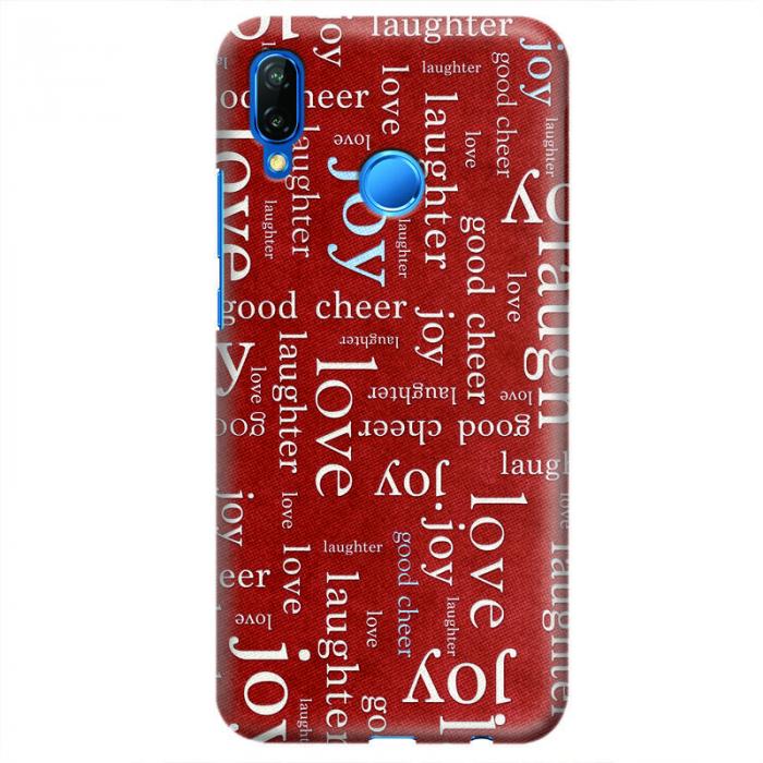 Husa Huawei P20 Lite Custom Hard Case - Love Pattern.3 0