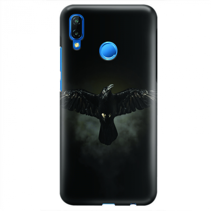 Husa Huawei P20 Lite Custom Hard Case - Raven 0