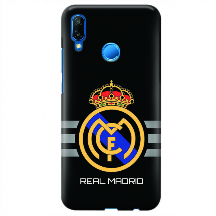 Husa Huawei P20 Lite   Custom Hard Case - Real Madrid 0