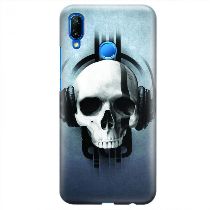 Husa Huawei P20 Lite   Custom Hard Case - Skull.1 0