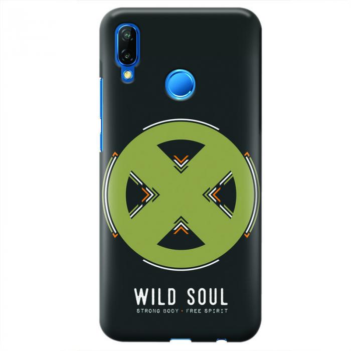 Husa Huawei P20 Lite   Custom Hard Case - Wild Soul 0