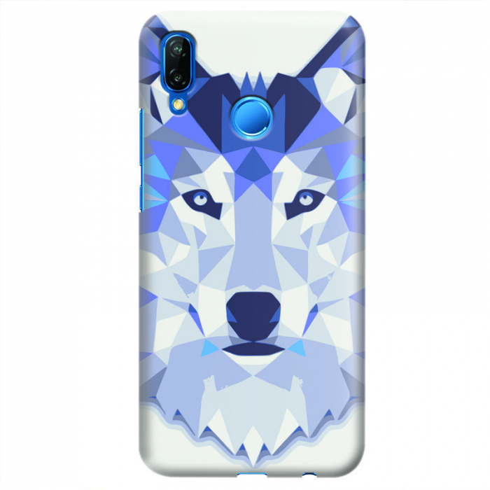 Husa Huawei P20 Lite   Custom Hard Case - Wolf 0
