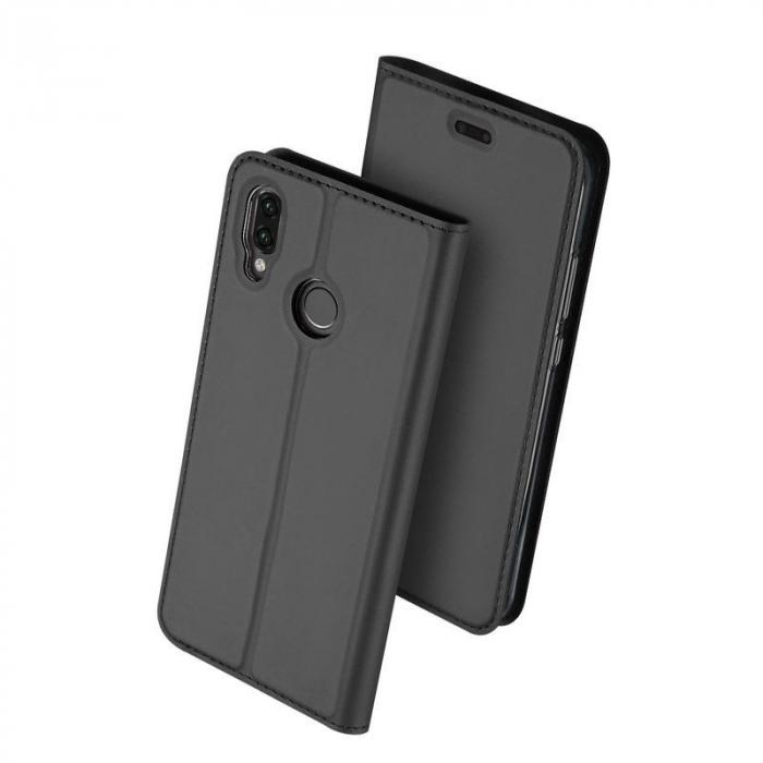 Husa  Huawei P20 lite Dux Ducis din piele eco - grey 2