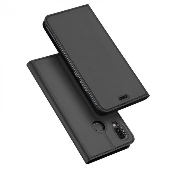 Husa  Huawei P20 lite Dux Ducis din piele eco - grey 0