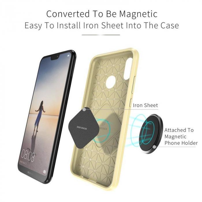 Husa Huawei   P20 lite Dux Ducis Mojo Case Silicon - gold 1