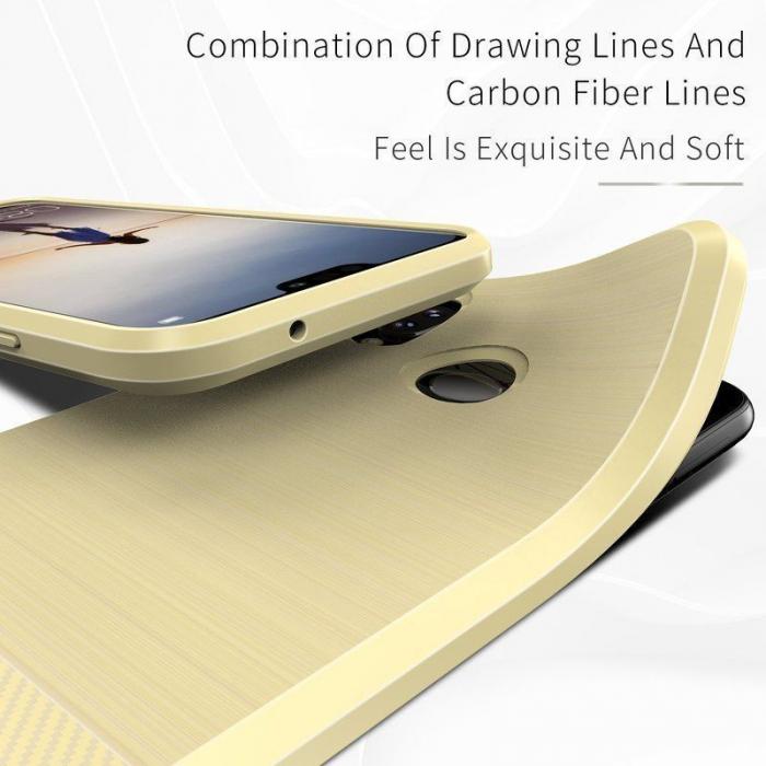 Husa Huawei   P20 lite Dux Ducis Mojo Case Silicon - gold 3