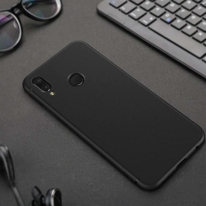 Husa Huawei P20 Lite Silicon Matte Ultra Thin - negru 4