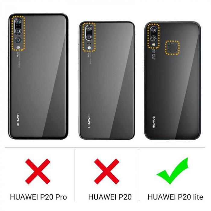 Husa Huawei P20 Lite Silicon Matte Ultra Thin - negru 6