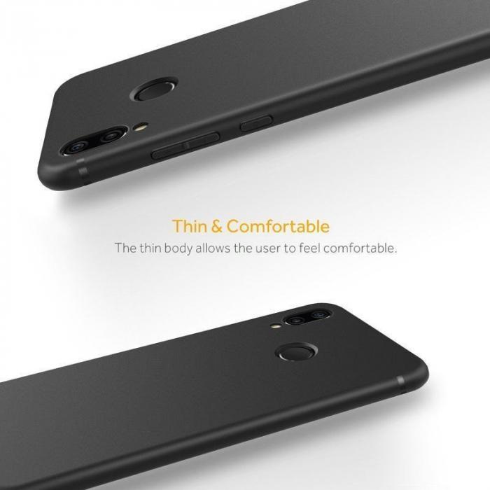 Husa Huawei P20 Lite Silicon Matte Ultra Thin - negru 2