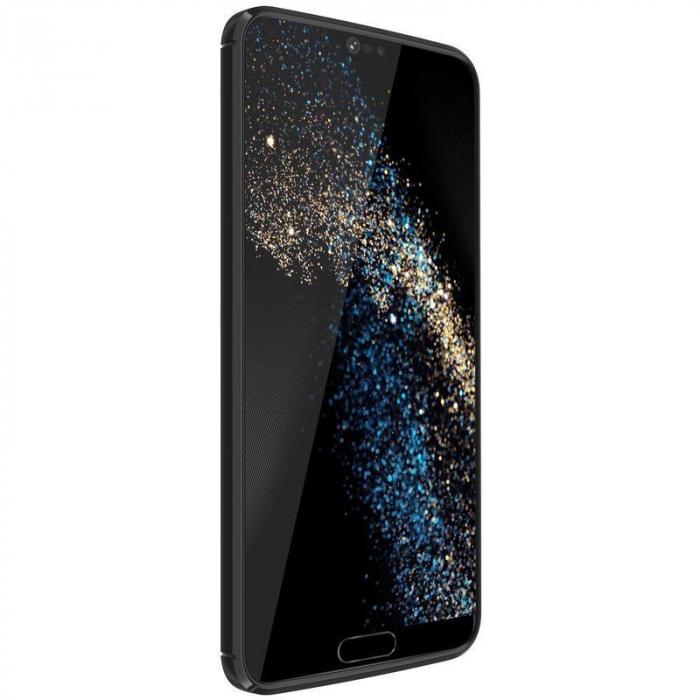 Husa Huawei P20 Lite Grain Silicon Tpu - negru 5