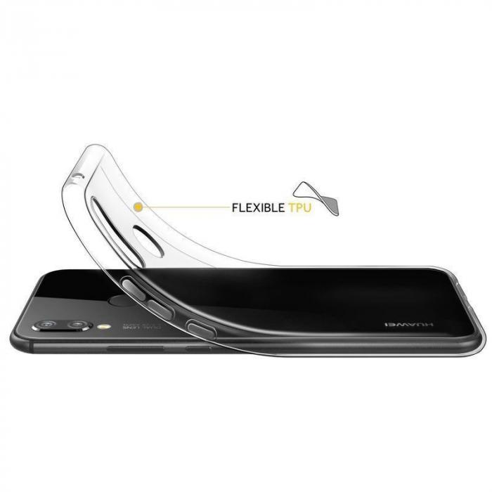 Husa Huawei P20 Lite Silicon TPU Ultra Thin 0.5 mm  - transparent 2