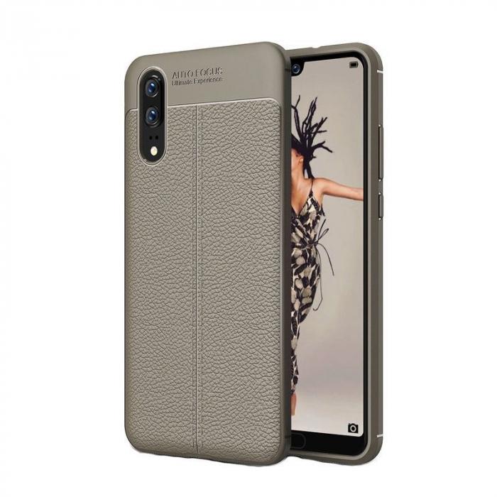 Husa Huawei P20 Tpu Grain - gri 0