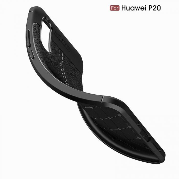 Husa Huawei P20 Tpu Grain - negru 4