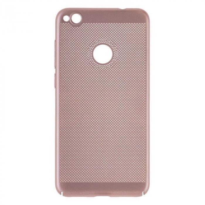 Husa  Huawei P9 lite (2017) / P8 Lite (2017) Plastic Perforat - gold 0