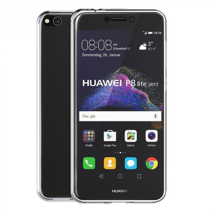 Husa   Huawei  P9 Lite 2017 / P8 Lite 2017 Silicon TPU 360 grade - transparent 6
