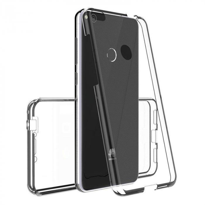 Husa   Huawei  P9 Lite 2017 / P8 Lite 2017 Silicon TPU 360 grade - transparent 4