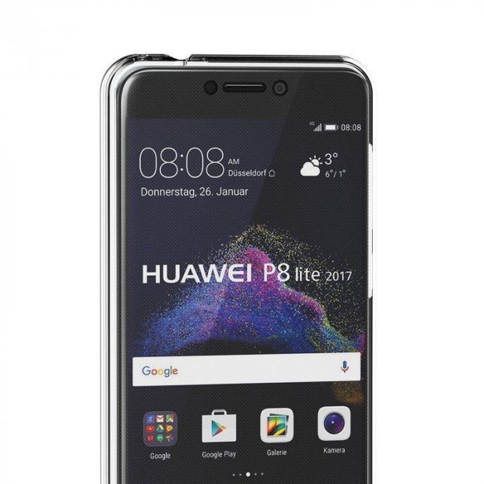 Husa   Huawei  P9 Lite 2017 / P8 Lite 2017 Silicon TPU 360 grade - transparent 7