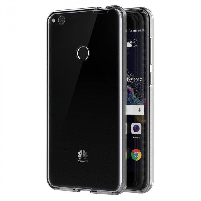 Husa   Huawei  P9 Lite 2017 / P8 Lite 2017 Silicon TPU 360 grade - transparent 2