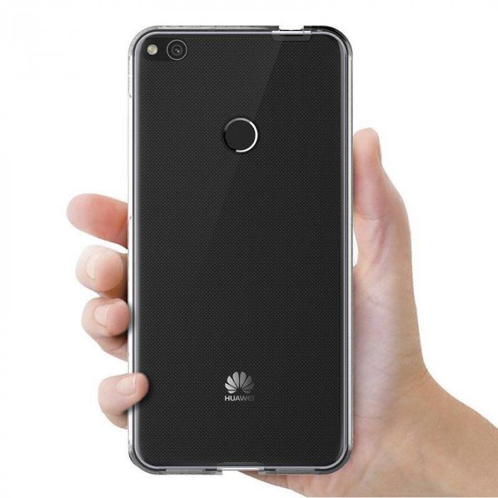 Husa   Huawei  P9 Lite 2017 / P8 Lite 2017 Silicon TPU 360 grade - transparent 1