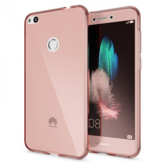 Husa   Huawei P9 Lite 2017 / P8 Lite 2017 Silicon TPU 360 grade - rose gold 1