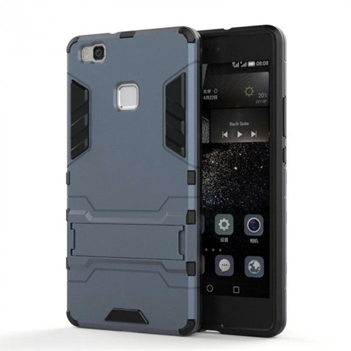 Husa Huawei P9 Lite Hybrid Stand - grey 0