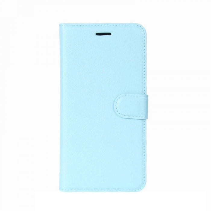 Husa Huawei P9 Lite Mini 2017 Crazy Horse - albastru 0