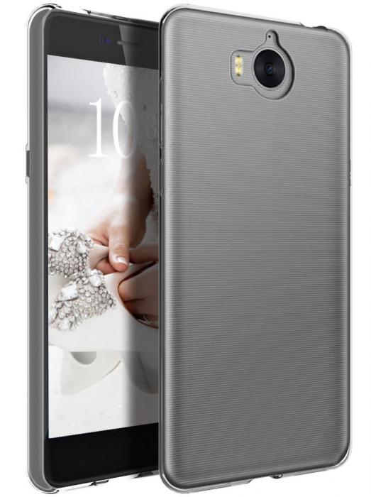 Husa Huawei Y6 2017 - TPU Ultra Thin - transparent 1