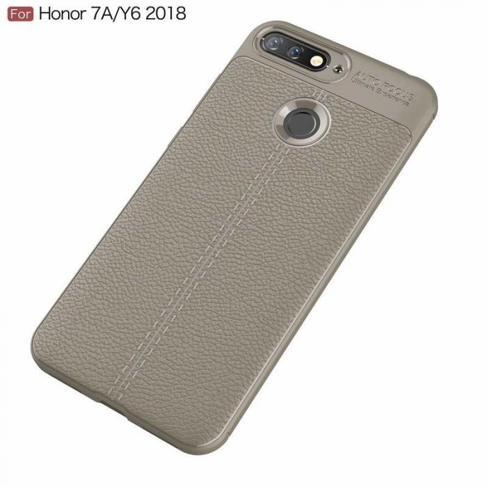 Husa Huawei Y6 ( 2018 ) Grain Silicon Tpu - gri 1