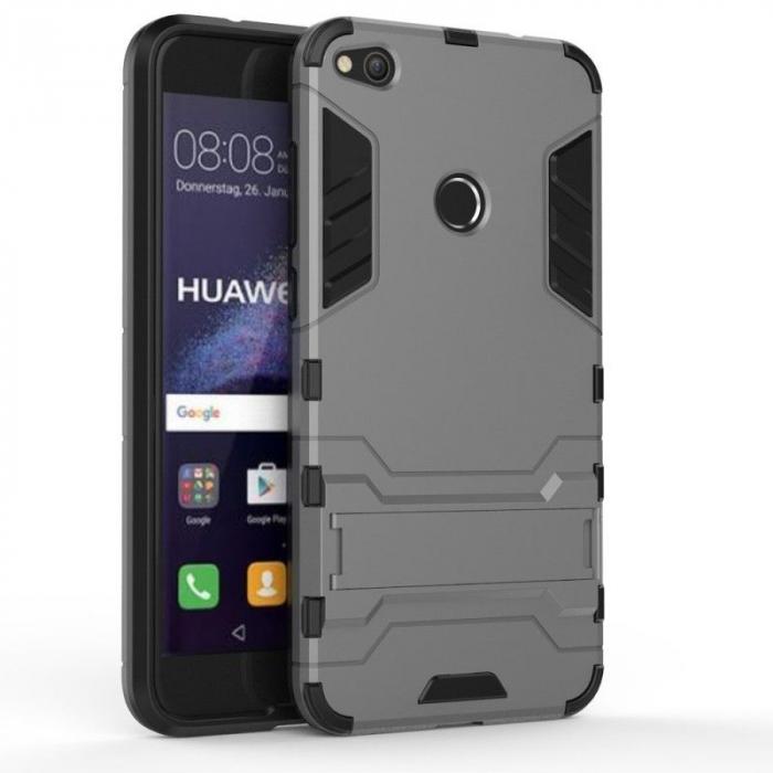 Husa  Huawei P9 Lite (2017) / P8 Lite (2017) Hybrid Stand - gri 0