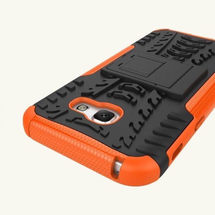 Husa  Samsung Galaxy A5 2017 (520F) Hybrid Stand - orange 4