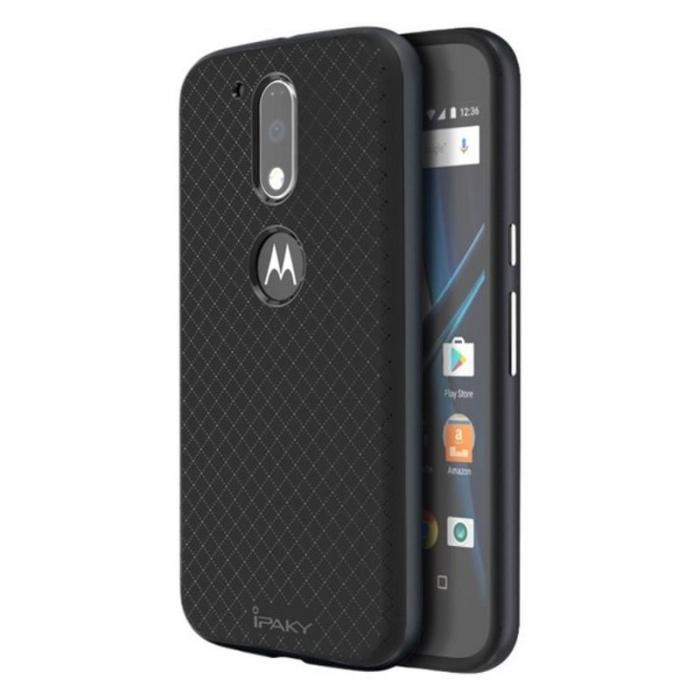 Husa Motorola Moto G4 Ipaky gray - negru 0