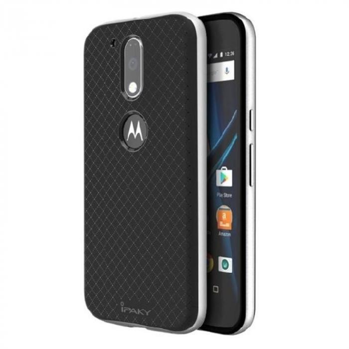 Husa Motorola Moto G4 Ipaky - argintiu [0]
