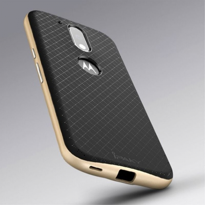 Husa Motorola Moto G4 Ipaky - gold 1