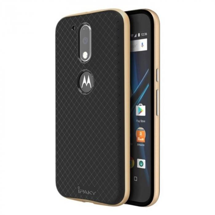 Husa Motorola Moto G4 Ipaky - gold 0