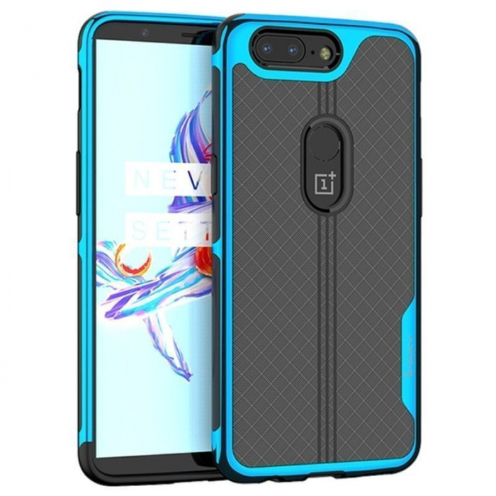 Husa OnePlus 5T Ipaky - albastru 0