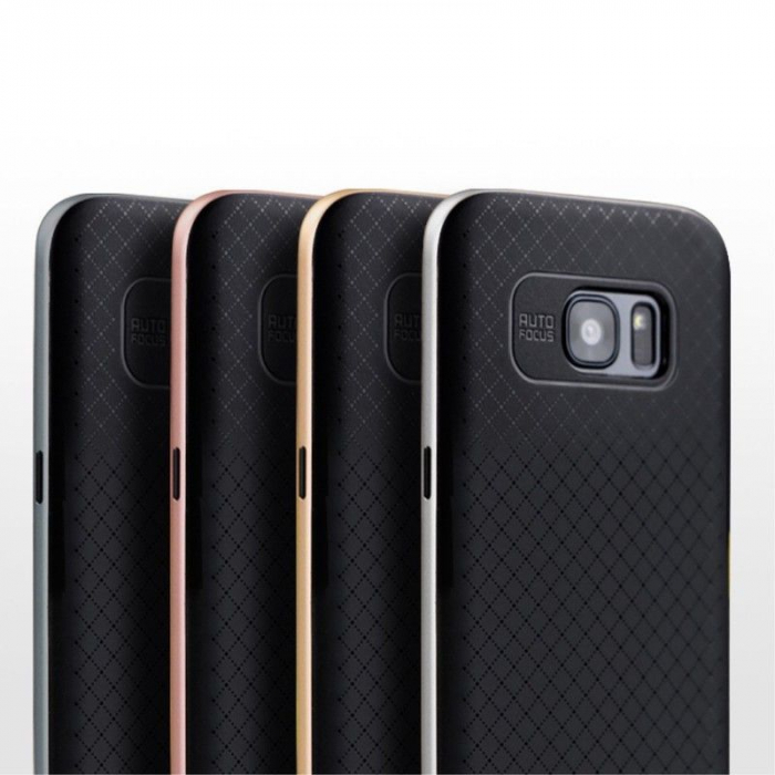 Husa Ipaky Samsung Galaxy S7 Edge - argintiu 7
