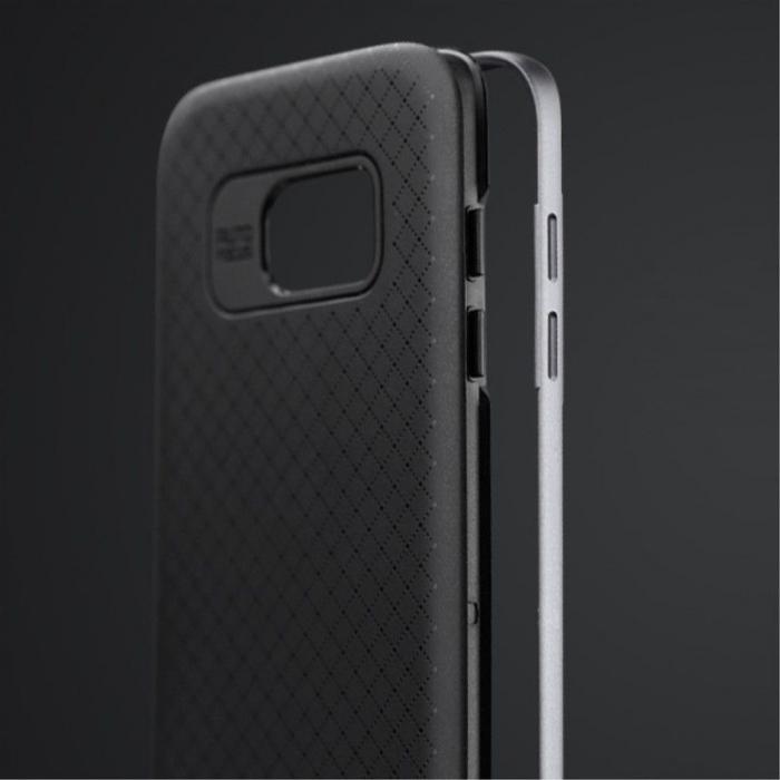 Husa Ipaky Samsung Galaxy S7 Edge - argintiu 2