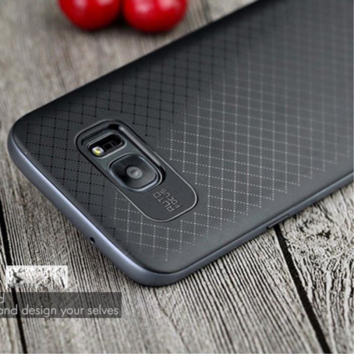 Husa Ipaky Samsung Galaxy S7 Edge - gray 1