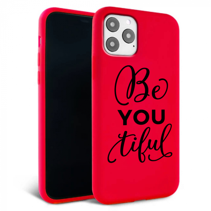 Husa iPhone 11 - Silicon Matte - Be you 1 [1]
