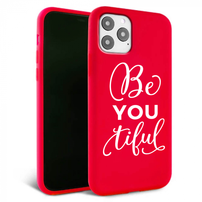 Husa iPhone 11 - Silicon Matte - Be you 2 [0]